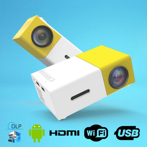 Mini Portable HD Projector