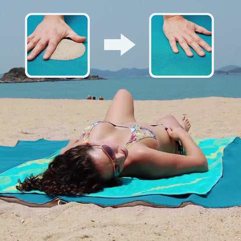 Amazing Sand Free Beach Blanket