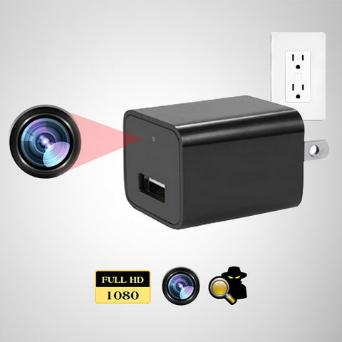 Covert HD Camera & USB Wall Charger
