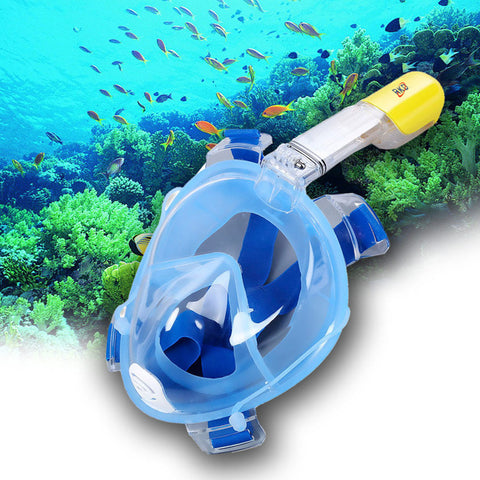 Dry Snorkeling Mask with GoPro Mount
