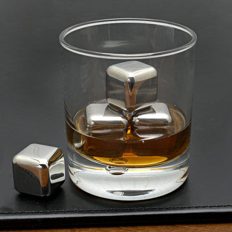 Stainless Steel Cooler Cubes - Envy Gadgets