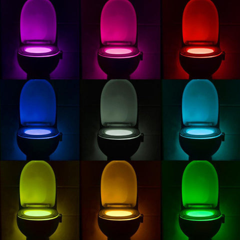 Motion Activated Toilet Night Light - Envy Gadgets