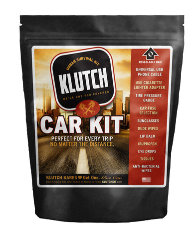 kluth kit - auto - survival kit - travel