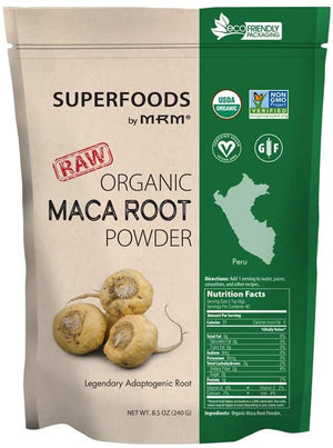 Raw Organic Maca Root Powder: 8.5 oz