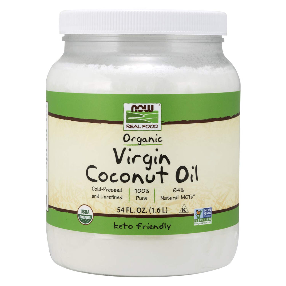 Load image into Gallery viewer, Organic Virgin Coconut Oil: 54 oz