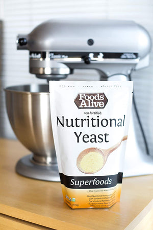 Nutritional Yeast, Non-Fortified: 6 oz