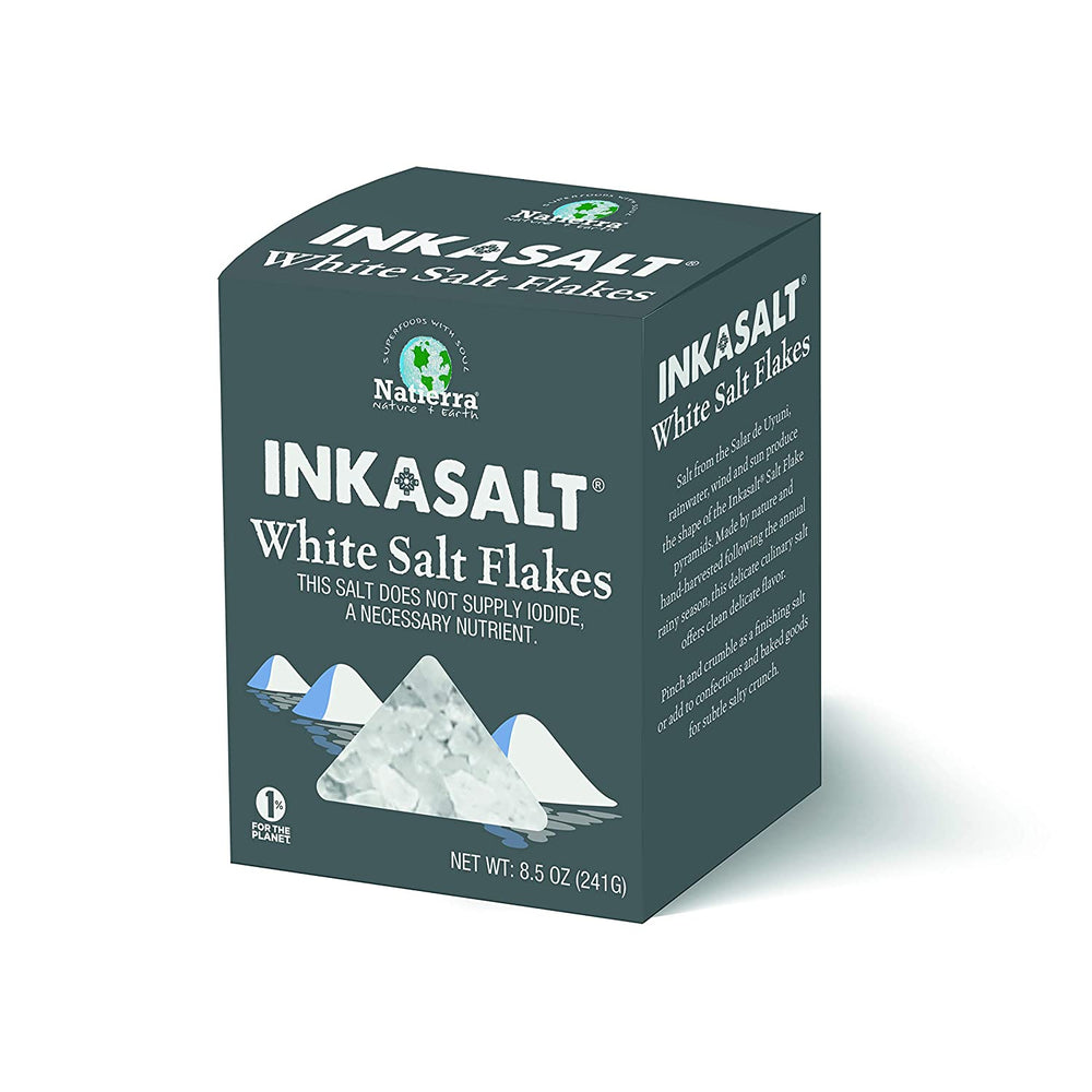 InkaSalt White Flaked Salt