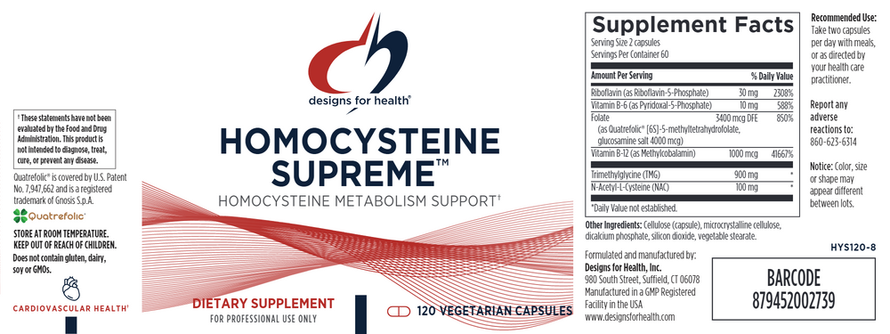 Load image into Gallery viewer, Homocysteine Supreme