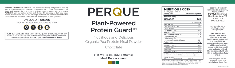 Plant-Powered Protein Guard