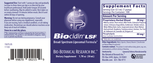 Load image into Gallery viewer, Biocidin®LSF: 50 ml
