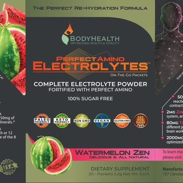 PerfectAmino Electrolytes - Packets