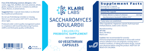 Load image into Gallery viewer, Saccharomyces Boulardii (Klaire Labs)