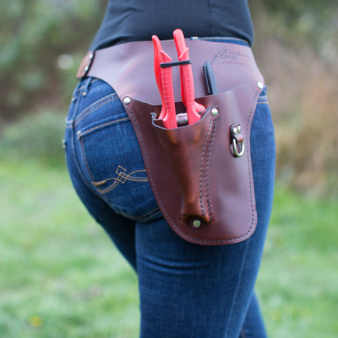 Farmer-Florist Tool Belt Rosewood {Right} Handed