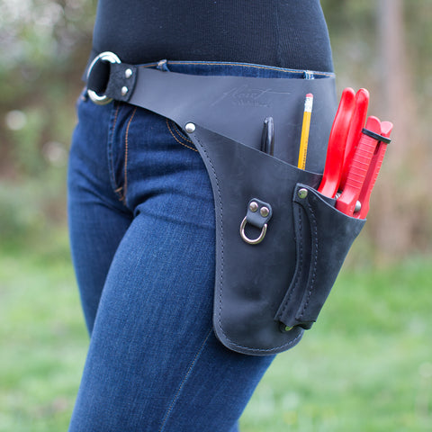 Farmer-Florist Tool Belt Black {Left} Handed