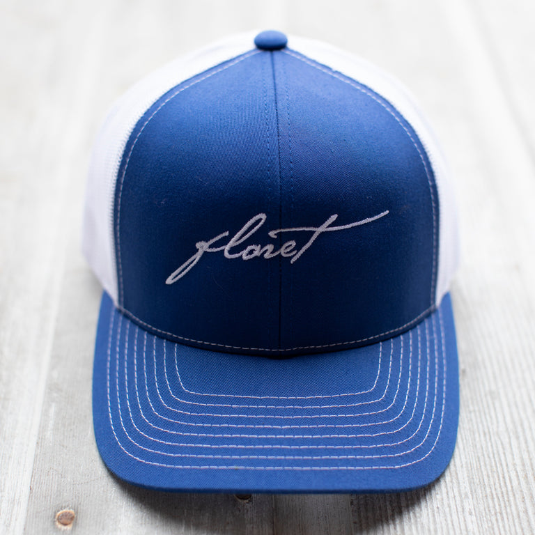 Floret Hat {Royal}
