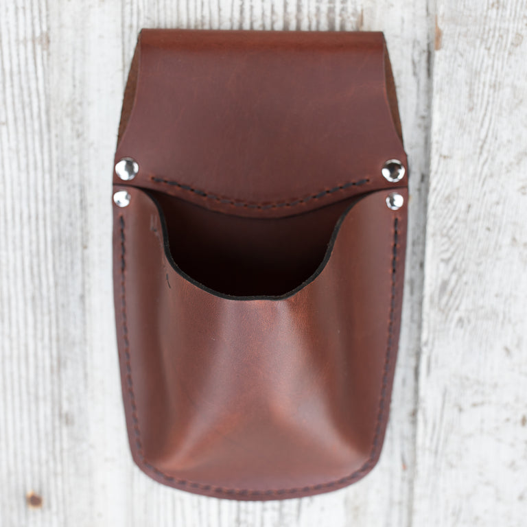 Farmer-Florist Rubberband Pouch {Rosewood}