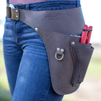 Farmer-Florist Tool Belt Brown {Left} Handed