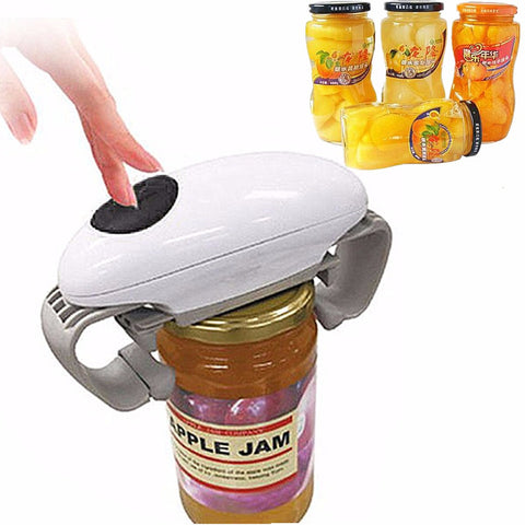 Easy to Use Electric Tin & Jar Opener