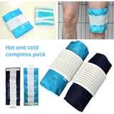 Flexible knee hot or cold pad
