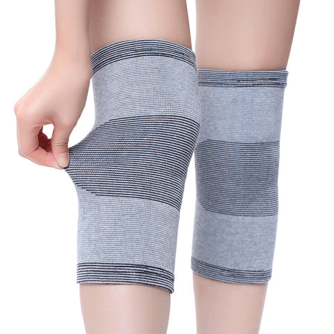 Comfortable bamboo charcoal knee pads