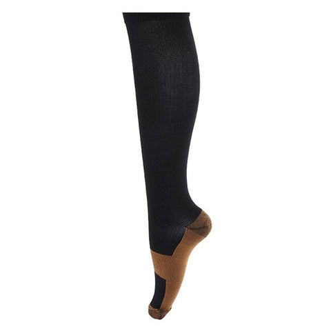 3 Pairs Copper Infused Compression Socks! For just $14.99