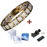Classy Healing Ceramic Health Magnetic Therapy Bracelet