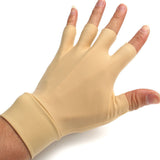 Thumb & Finger Nylon-Spandex Compression Gloves