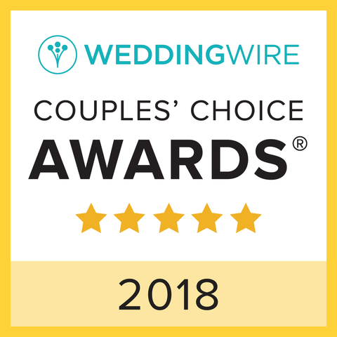 Wedding Wire Couple's Choice Awards - 5 Stars