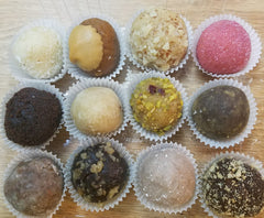 Cake Truffles by Silver Rose Bakery