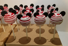 Mickey Mouse Themed Cake Pops - Silver Rose Bakery