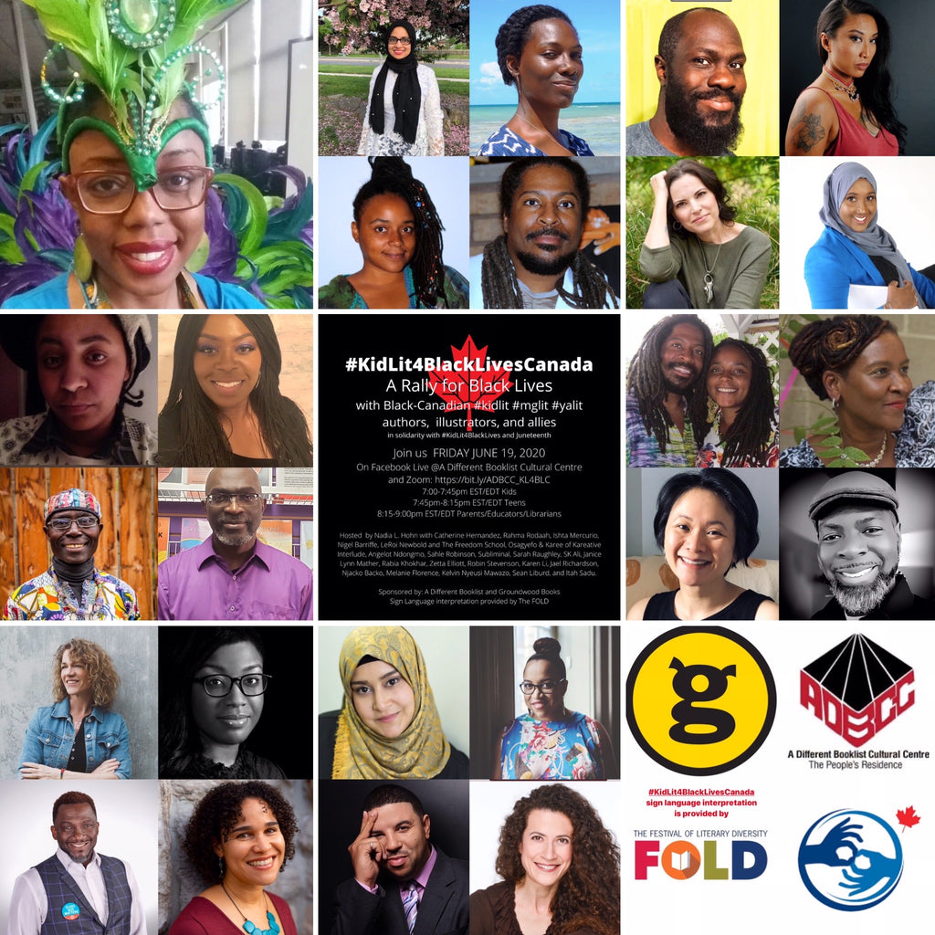 Join us this evening for #kidsLit4BlackLifeCanada