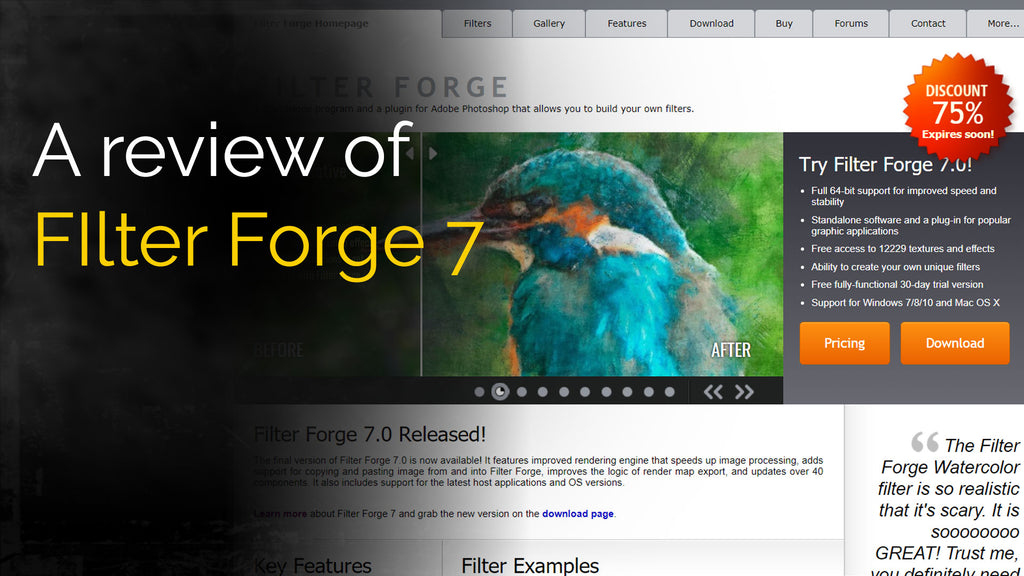 Filter Forge 7 is here!