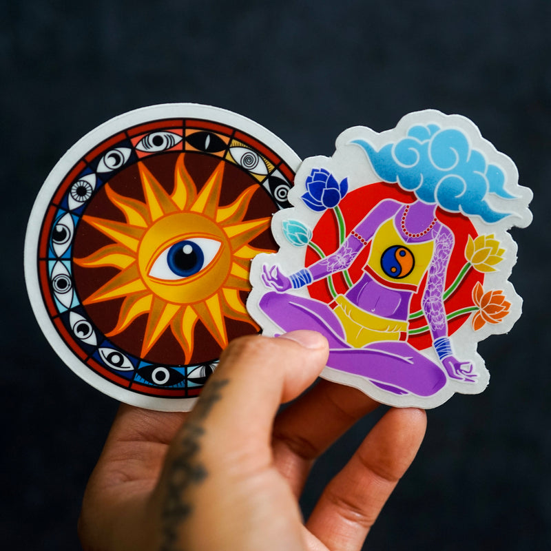 Presence (Set of 2 Clear Stickers)