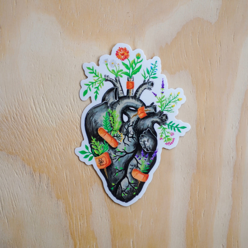 Healing Heart Sticker