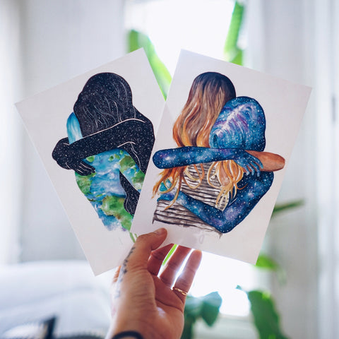 GIRL POWER (Set of 2 Postcards)