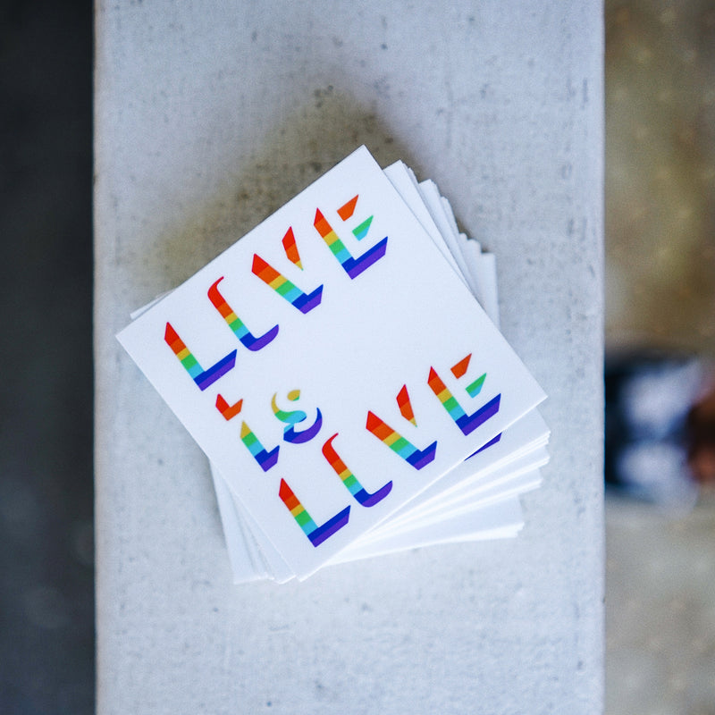 Love Wins (Set of 2 Stickers)
