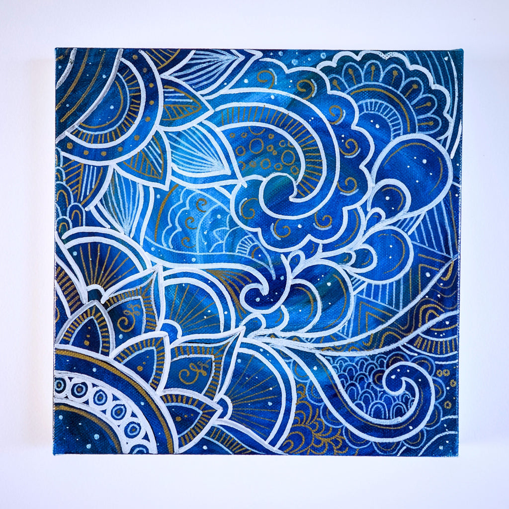 Neptune Canvas Painting
