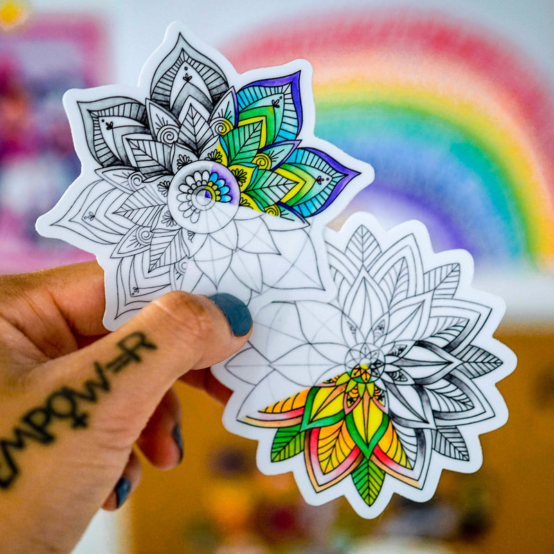Mandala Seasons (Set of 2 Stickers)