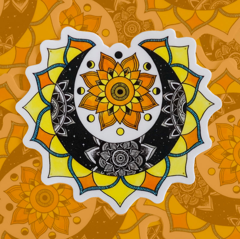 Sun & Moon Magic (Set of 2 Stickers)