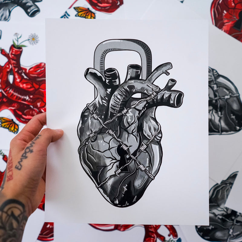 Heart Series (Set of 2 Prints)