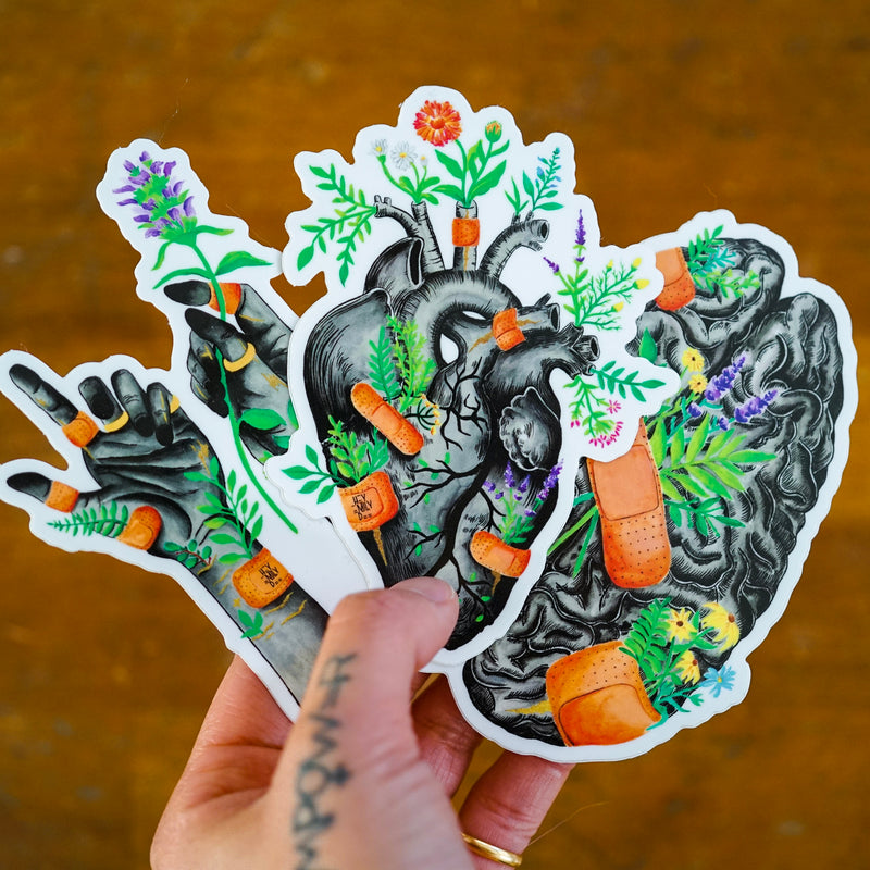 Healing Series (Set of 3 Stickers)