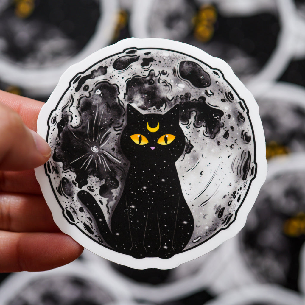 Celestial Cat Sticker