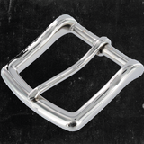 Heel Bar Buckle Nickel Plated 1 1/2""
