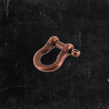 "1/4"" Shackle Copper over Solid Brass"