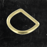 D-Ring Solid Brass 1""
