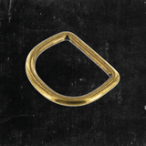 D-Ring Antique Brass 1 1/4""