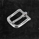 Heel Bar Buckle Nickel Plated 1""