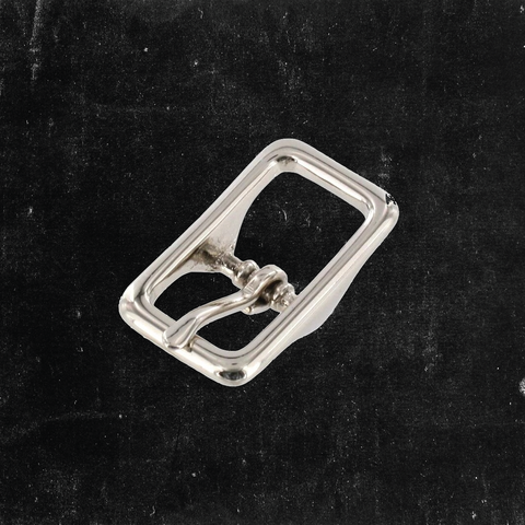 Center Bar Buckle Nickel Plated 1/2""