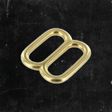 Double Loop Solid Brass 1""