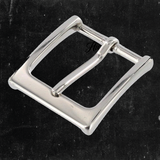 Heel Bar Buckle Nickel Plated 1 1/4""
